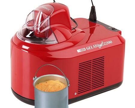Nemox Gelato Chef 2200 Jäätelökone, Punainen 1,5 liter