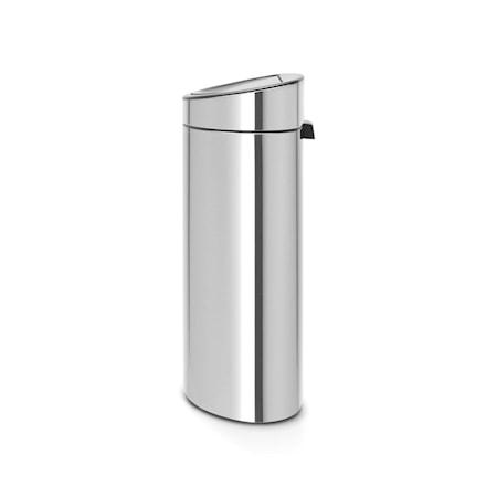 Brabantia Touch Bin Recycle, muovinen sisäämpäri 10/23 L Mattaharjattua terästä /F.P.P.