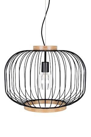 Globen Lighting Berlin Kattovalaisin XL – Matta Musta / Saarni