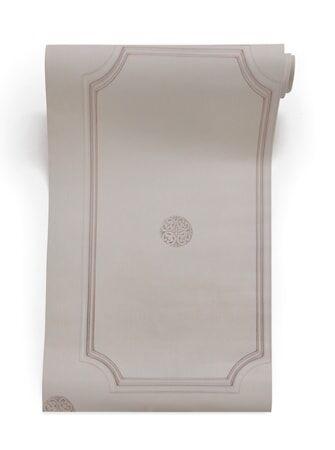 Mineheart Georgian dot panelling Tapetti – Harmaa/beige