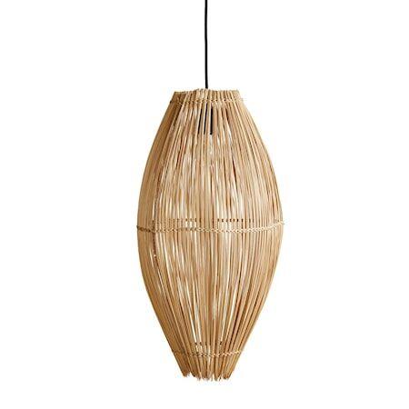 MUUBS Fishtrap Bambu Iso Kattolamppu 66x35 cm
