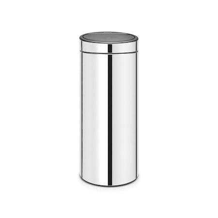 Brabantia Touch Bin Uusi, muovinen sisäämpäri 30 L Kiiltäväksi harjattua terästä