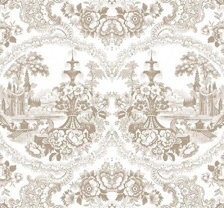 Mineheart Delft baroque Tapetti – Beige