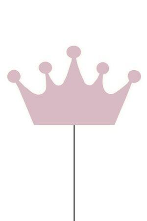 Globen Lighting Crown Seinälamppu Rosa