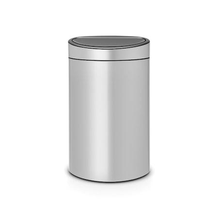 Brabantia Touch Bin, muovinen sisäämpäri 40 L metalli harmaa