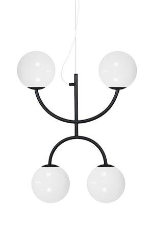 Globen Lighting Luna Kattolamppu X Musta