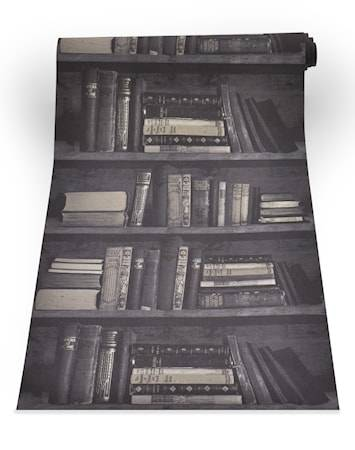 Mineheart Bookshelf dark Tapetti