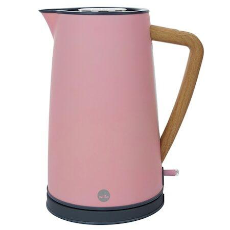 Wilfa Spring Vedenkeitin 1,7L Vaaleanpunainen
