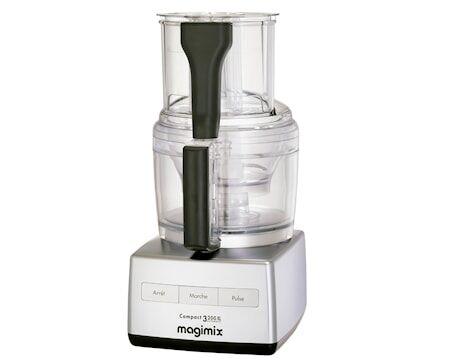 Magimix CS 3200 XL Monitoimikone 650W Matta Kromi