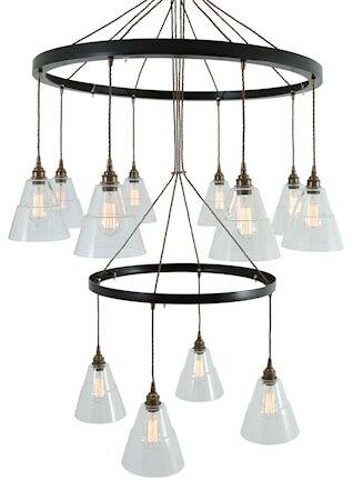 Mullan Lighting Lyx 2 tier Kattokruunu