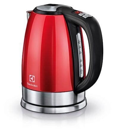 Electrolux EEWA7700R Vedenkeitin säädettävällä lämmöllä 1,7L Punainen