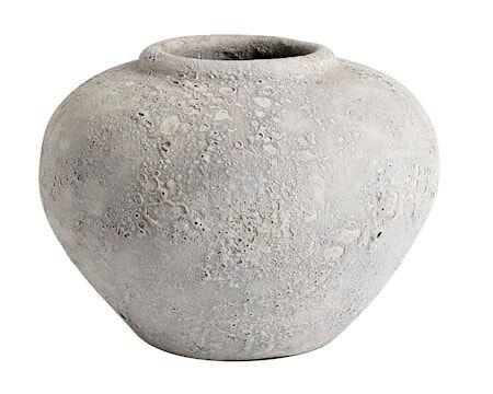 MUUBS Luna Ruukku Harmaa Terracotta 18x25 cm