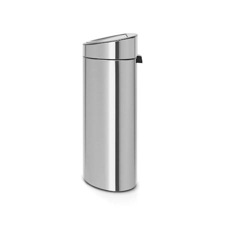 Brabantia Touch Bin Recycle, muovinen sisäämpäri 10/23 L Mattaharjattua terästä