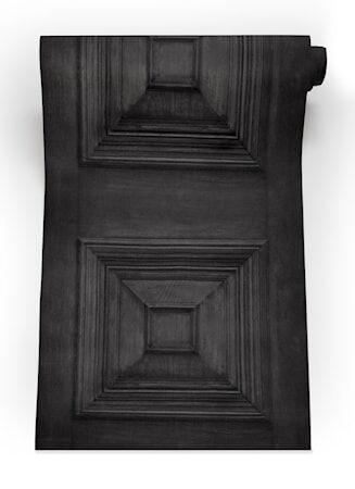 Mineheart Victorian panelling Tapetti – Charcoal