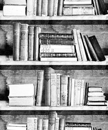 Mineheart Bookshelf photocopy Tapetti