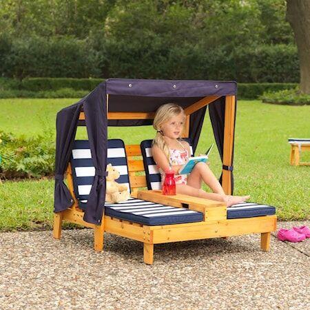 Kidkraft Double chaise lounge Nojatuoli