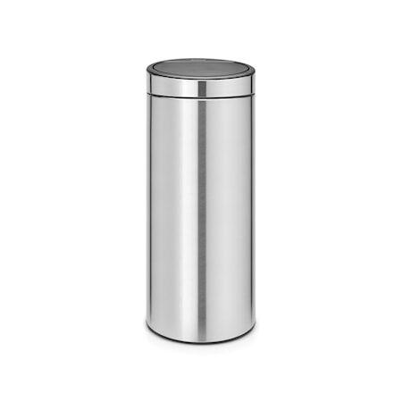 Brabantia Touch Bin Uusi, muovinen sisäämpäri 30 L Mattaharjattua terästä /F.P.P.