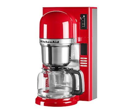 KitchenAid Kahvinkeitin punainen 1,25 L