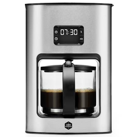 OBH Nordica Vivace Tempo, kahvinkeitin ajastimella, 12 kuppia