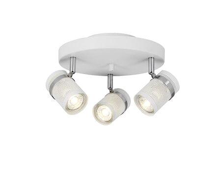 Cottex Network Spotlight Pyöreä Valkoinen