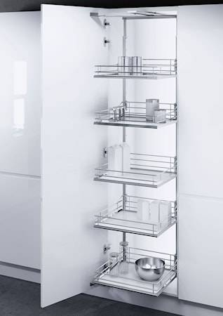 Beslag Design VSA 400 Korkeankaapin vedin 1900-2140 Valkoinen/kromia