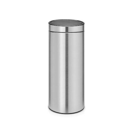 Brabantia Touch Bin Uusi, muovinen sisäämpäri 30 L Mattaharjattua terästä