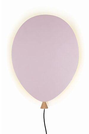 Globen Lighting Balloon Seinälamppu Rosa