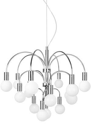 Globen Lighting Grace Riippuvalaisin XL Kromi