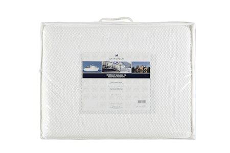 Gripsholm Päiväpeitto Lilly 260x260 cm - Valkoinen