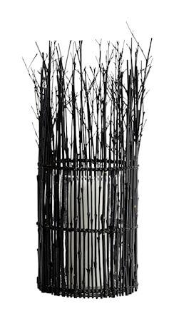 MUUBS Fishtrap Pieni lyhty Bambu 45x16 cm - Musta