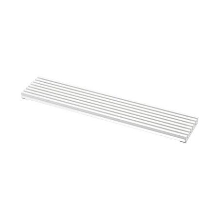 Beslag Design Ilmastointiritilä 598x125 Valkoinen