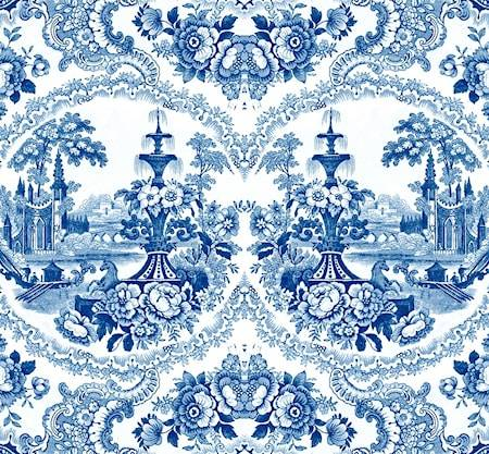 Mineheart Delft baroque Tapetti – Sininen