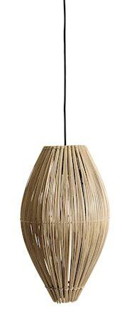 MUUBS Fishtrap Bambu M Kattolamppu 45x28 cm