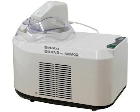 Nemox Gelato Grand Jäätelökone Valkoinen/läpinäkyvä 1,5L