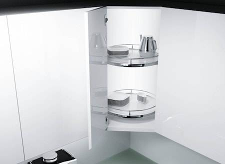 Beslag Design Recorner Maxx 1/1 480 Valkoinen/kromia