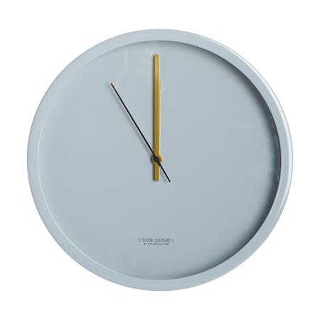 House Doctor Clock Couture Seinäkello Harmaa 30 cm