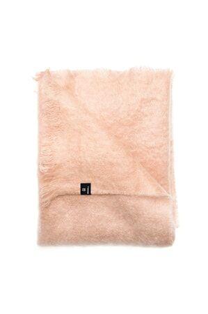 Himla Mohairviltti Lawrence 120x170 cm - Vaaleanpunainen