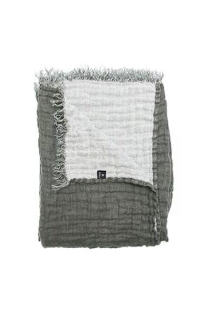 Himla Hannelin Viltti Tummanharmaa/Valkoinen 130x170