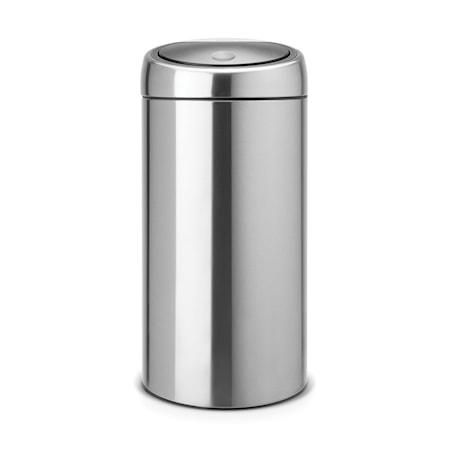 Brabantia Touch Bin Recycle, muovisisäämpärit 2x20 L Mattaharjattua terästä /F.P.P.