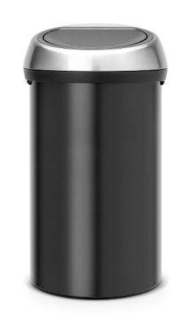 Brabantia Touch Bin® 60 L F.P.P. Kansi Matt Black