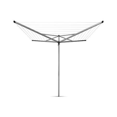 Brabantia Kuivausteline Essential, 50m, 4 uloketta, maaputki muovista 35mm 50 M metalli harmaa