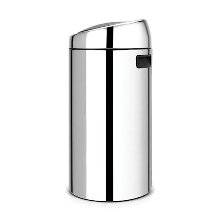 Brabantia Touch Bin, muovinen sisäämpäri 45 L Kiiltäväksi harjattua terästä