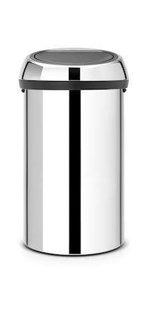 Brabantia Touch Bin® 60 L Teräs
