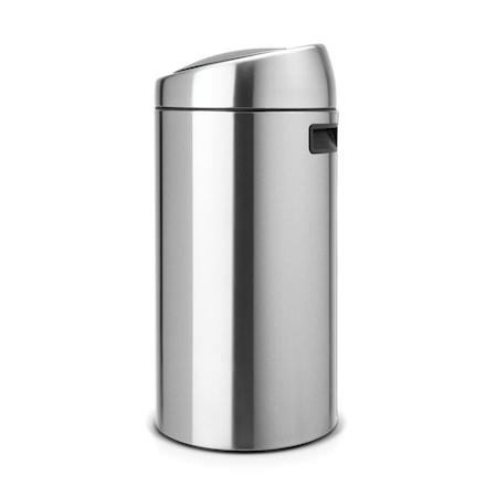 Brabantia Touch Bin, muovinen sisäämpäri 45 L Mattaharjattua terästä /F.P.P.