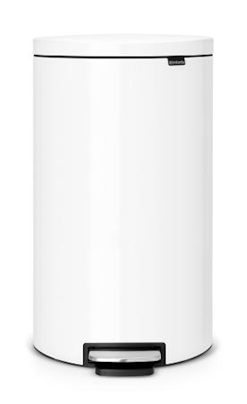 Brabantia Flatback + poljinroskis valkoinen 30 L