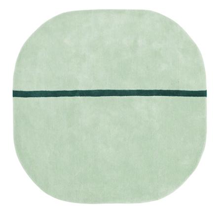 Normann Copenhagen Matto minttu 140x140cm