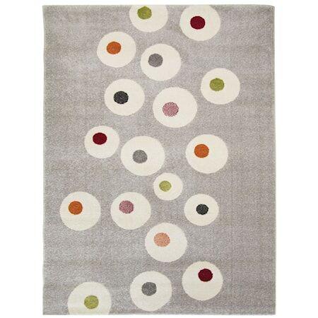 Nattiot Dot Matto Multicolor 120x170 cm