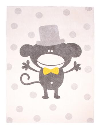 Nattiot Polka Monkey Matto