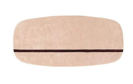 Normann Copenhagen Matto rosa 90x200cm
