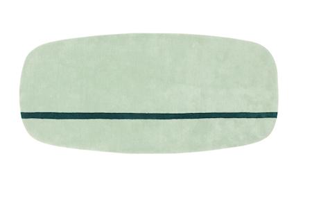 Normann Copenhagen Matto minttu 90x200cm
